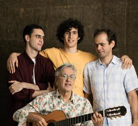 Caetano, Zeca, Tom e Moreno Veloso