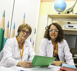 Izabel Oliveira e Rosane Santos